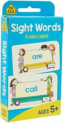 Beginning Sight Words Flash Cards Paperback With 110 Basic Word Learning Kids