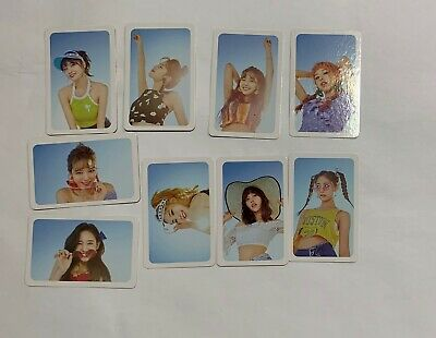 TWICE Summer Pop-up Store Official Photocards Set (9 EA)