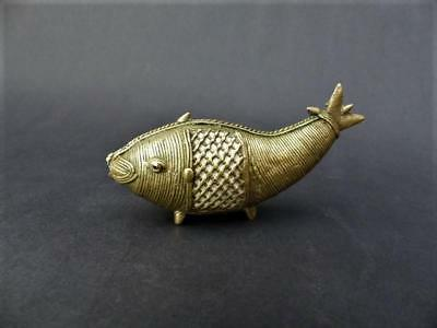 Antique Wire-work Chinese Carp - Brass Wire-work Chinese Fish