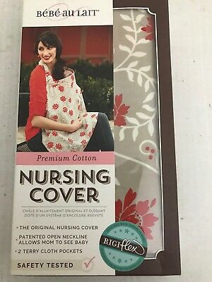Bebe Au Lait Nursing Cover Floral 2 Pockets