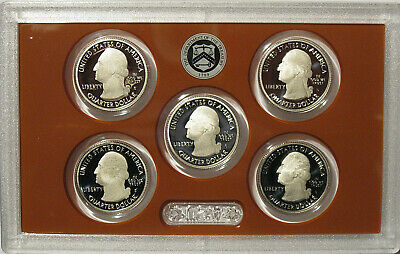 2019 S Clad Proof America The Beautiful Quarter Set No Box or Coa Ready to Ship