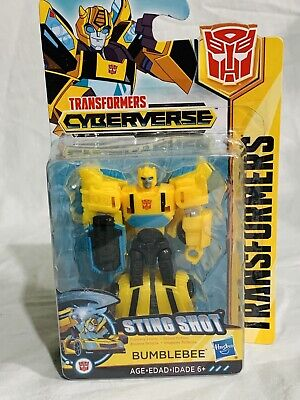 #1 Action- & Spielfiguren Transformers Cyberverse Action Figure Bumblebee Sting Shot Scout Class NEW