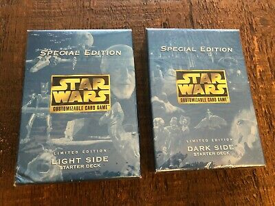 Decipher Star Wars CCG SPECIAL EDITION LIGHT SIDE Limited Edition Starter Deck