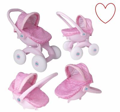 My First Pram 4 in 1 Dream Creations Pushchair Activity Toy Play