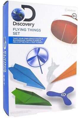 Joblot Flying Things Toys Set X 12- DISCOVERY CHANNEL RRP£8.99 Each BRAND NEW