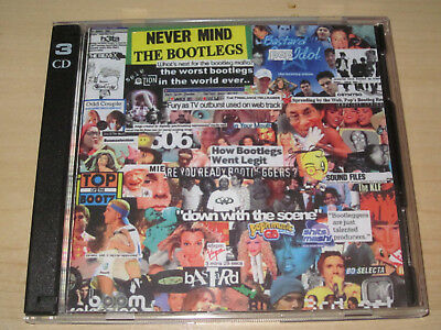 """Boom Selection """"Never Mind The Bootlegs"""" Holy Grail der Mashups! 3 CD 432 Tracks"""