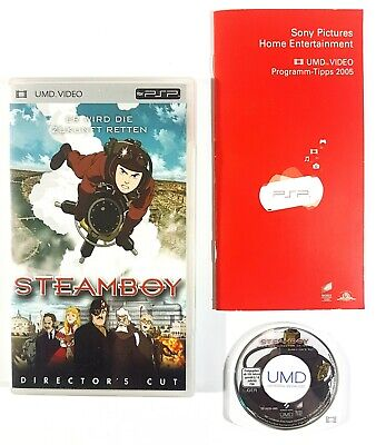 Sony PSP UMD Video STEAMBOY - DIRECTOR'S CUT dt. OVP