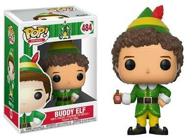 Movies Vinyl Figure Buddy Elfe avec Boule de neige Exclusive #488 Funko Pop