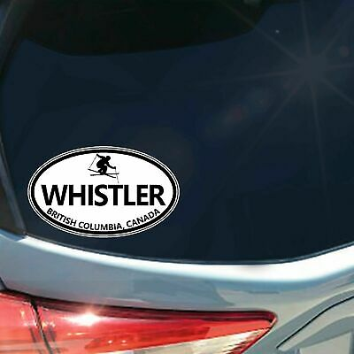 Whistler Blackcomb vinyl sticker decal ski snowboard MTB Canada Vancouver CA