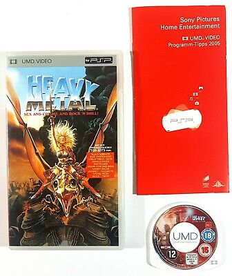 Sony PSP UMD Video HEAVY METAL - SEX & CRIME & ROCK'N ROLL dt. OVP