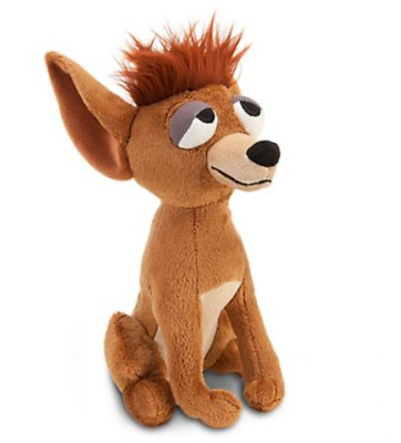 "DISNEY - Lady and the Tramp PEDRO Chihuahua Dog Plush Stuffed Toy - 8"" NEW"