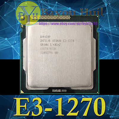 Intel Xeon E3-1270 SR00N 3.4GHz Quad Core LGA 1155 CPU Processor