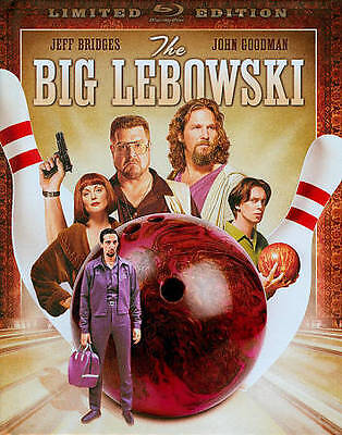 The Big Lebowski (Blu-ray Disc, 2011, WS Limited Edition DigiBook) SEALED