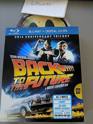 Back to the Future: 25th Anniversary Trilogy (Blu-ray Disc, 2010, 6-Disc Set)