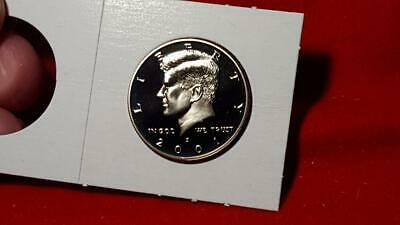 "2001-S Mint ""Ultra Deep"" Cameo Kennedy Half Dollar Proof Free Shipping!"