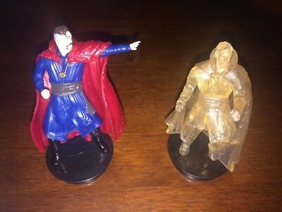 Doctor Strange Movie Theater Exclusive Figure Toppers - set of 2 New