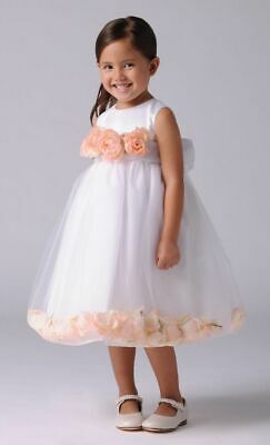 ce9ba4faecf Us Angels Toddler Flower Girl   Special Occasion Dress Style 705 Ivory