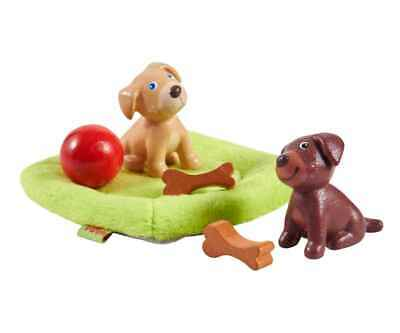 Haba Little Friends Play Set Puppies Flexible Dolls Accessories from 3 Years