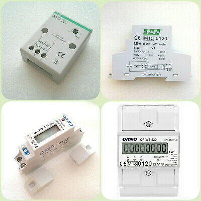 Energy meter 1 3 phase ORNO Power Meter Staircase Light Electronic Relay Timer