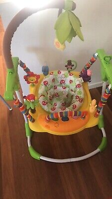 Basically brand new used Rainforest Jumperoo