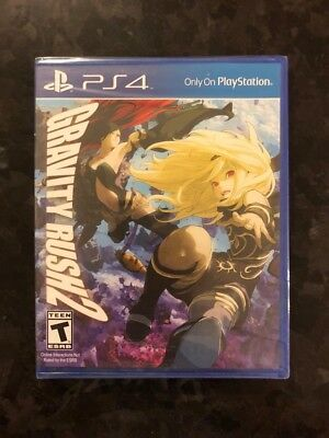 Brand New Sealed Gravity Rush 2 PS4 Sony PlayStation 4