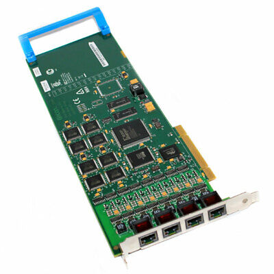 Dialogic 306-383 Diva UM Analog-8 8-Ports PCI 4-Channel Fax Board With Cables