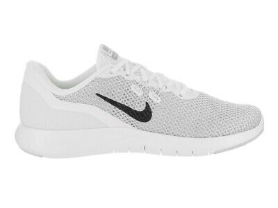 9bfdb96e15e7e Nike Women's Flex Trainer 7 Cross, White/Metallic Silver-Pure Platinum, 7.5