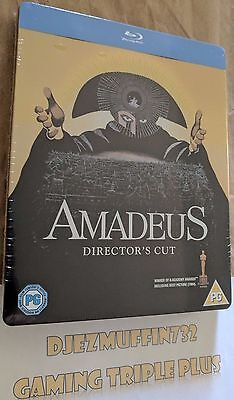 Amadeus Director's Cut Blu-Ray Steelbook (Region B) Limited To 1000