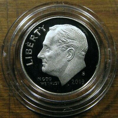2019 S Roosevelt Dime 1 Deep Cameo Clad Proof Coin