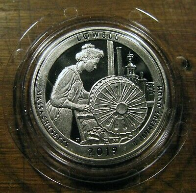 2019 S America The Beautiful Washington Quarter Lowell National Historical Park