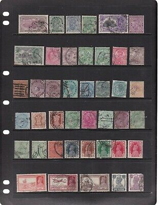 India Old From Queen Victoia From 1774, Overprints 5 Scans