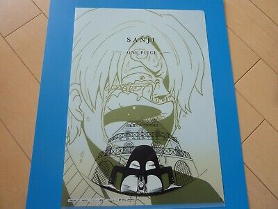 ONE PIECE  clear file folder  A4 size  /&  a poster set