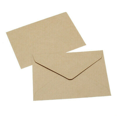 20Pcs/Set Kraft Paper Postcard Envelopes Letter DIY Invitation Card Classical
