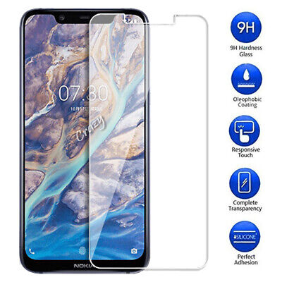 For Nokia 3.1 5 5.1 6.1 X6 7 Plus 7.1 8 Sirocco Tempered Glass Screen Protector