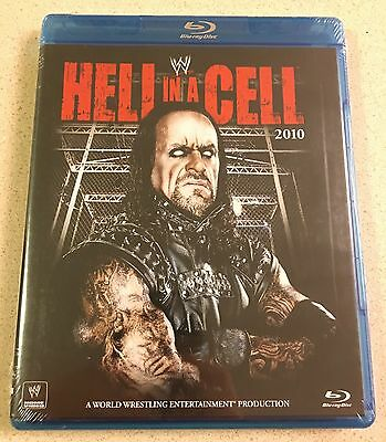 WWE Hell In A Cell 2010 Blu-ray Brand New SEALED Cena Undertaker Kane NXT DVD