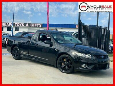 2010 Ford Falcon FG XR6 Ute Super Cab 2dr Man 6sp, 585kg 4.0i Black Manual M
