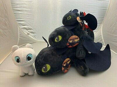 How to Train Your Dragon Toothless Plush Soft Toy Night Fury Doll up to 20 Inch!