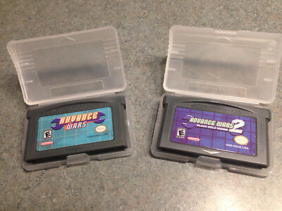 Advance Wars 1 (one) 2 (two) Black Hole Rising GBA GameBoy Advance Lot Option