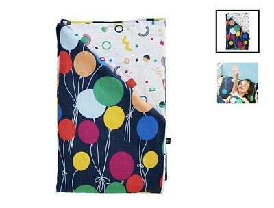 Sack Me Up Up & Away Cot Quilt Cover & Fitted Sheet Set RRP $149
