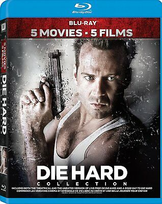 Die Hard Movie Collection (Bilingual) [Blu-ray] *BRAND NEW*