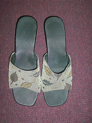 d4f0d09b514647 KAREN SCOTT EMET Open Toe Synthetic Slides Sandal -  7.99