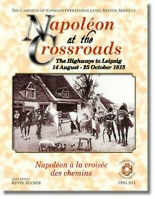 OSG Wargame Napoleon at the Crossroads Box VG+