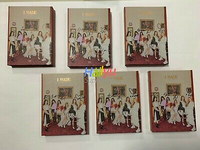 "(G) I-DLE ""I MADE"" - 2nd Mini - Autographed(Signed) Promo CD (UPDATED 3.20)"