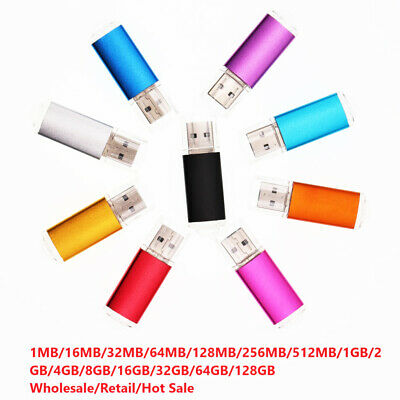 128/64/32/16/8GB Mini USB 2.0 Flash Memory Stick Pen Drive Storage Thumb U Disk