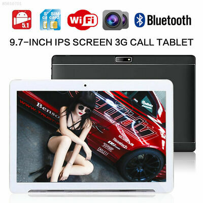 2019 9.7 inch Tablet PC phablet Dual 3G SIM wifi Android Smart PHONE 4G + 64GB