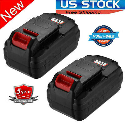 2Pack 18V Replace For Porter Cable PC18B NI-CD Battery 18 Volt Cordless PCC489N