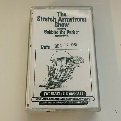 The Stretch Armstrong & and Bobbito Show 12-3-93 CASSETTE MIXTAPE WKCR w/ Onyx
