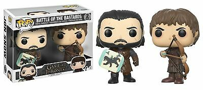 Funko Pop! Game of Thrones: Battle of the Bastards 2-Pack