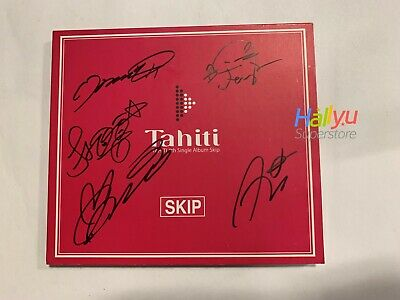 "Tahiti ""Skip"" - Autographed(Signed) Promo Digital Single"