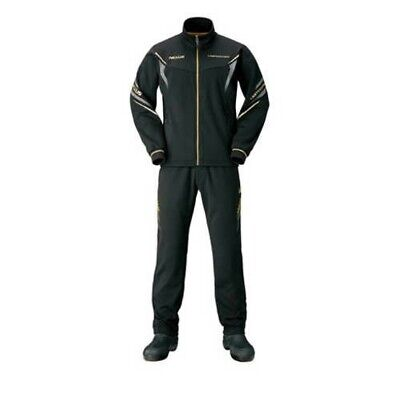 SHIMANO MD-154R Jogging Suits LIMITED PRO Black 2XL Fishing Fast Ship Japan EMS